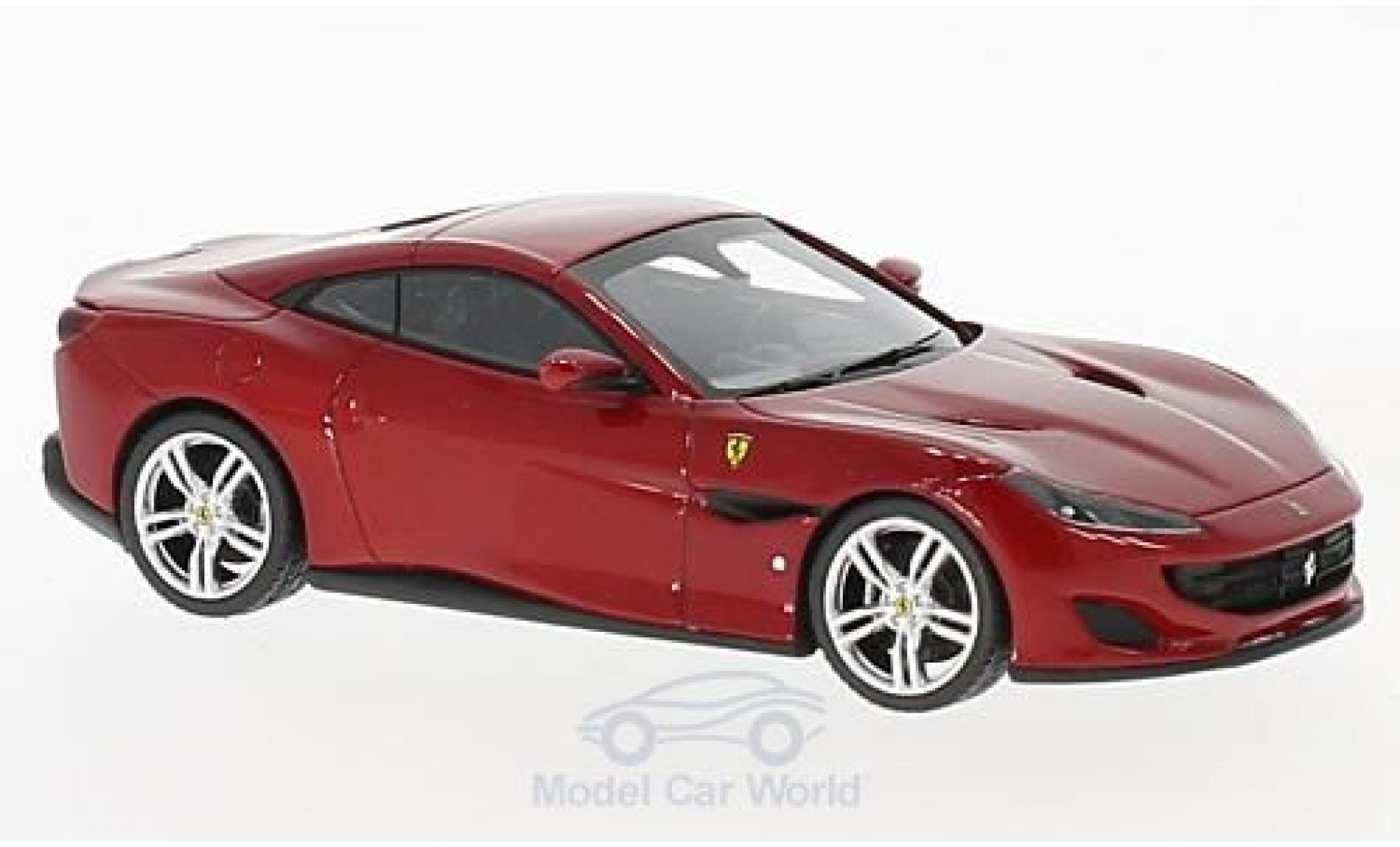 Ferrari Portofino 1/43 Look Smart metallise rot
