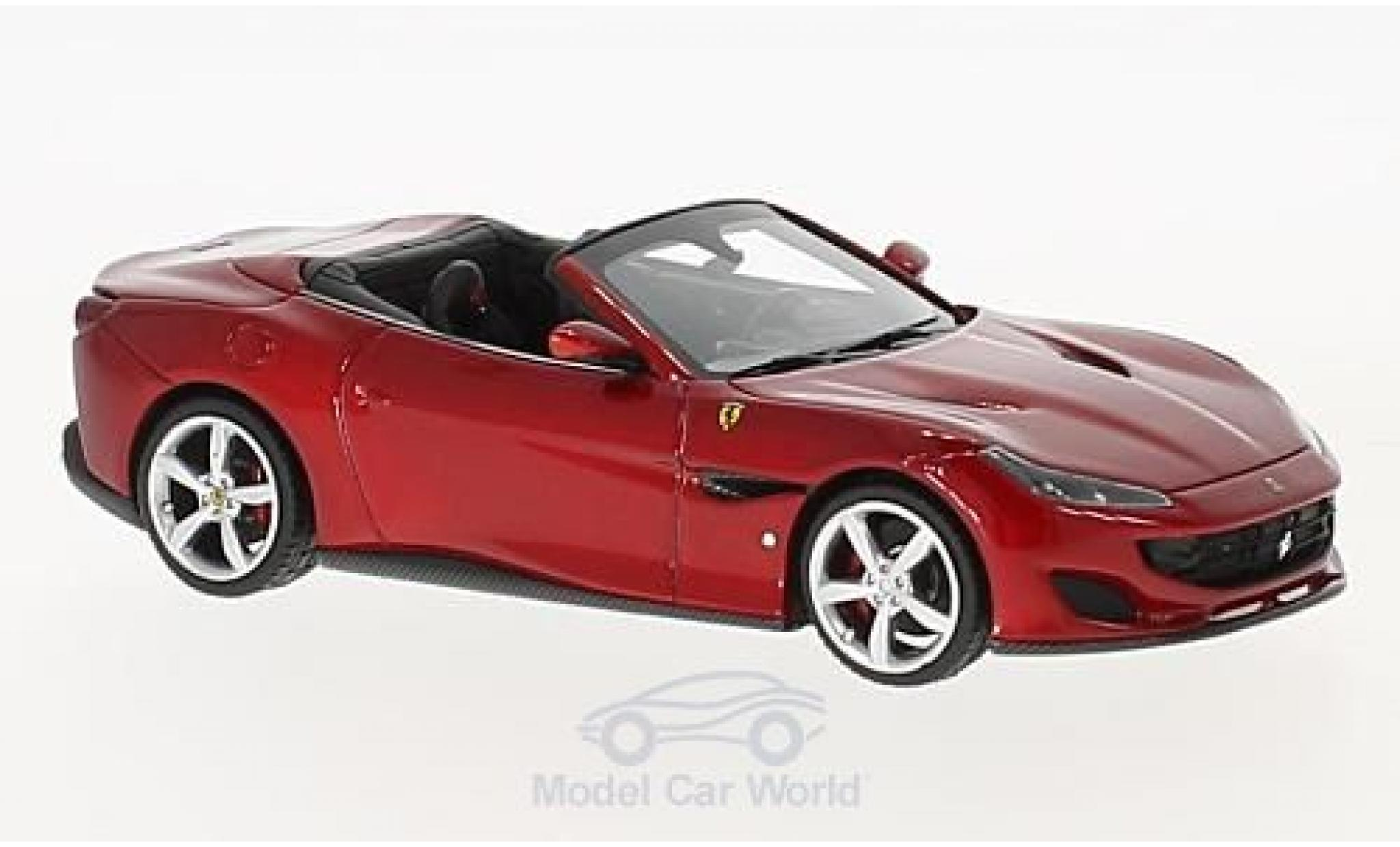 Ferrari Portofino 1/43 Look Smart metallic red