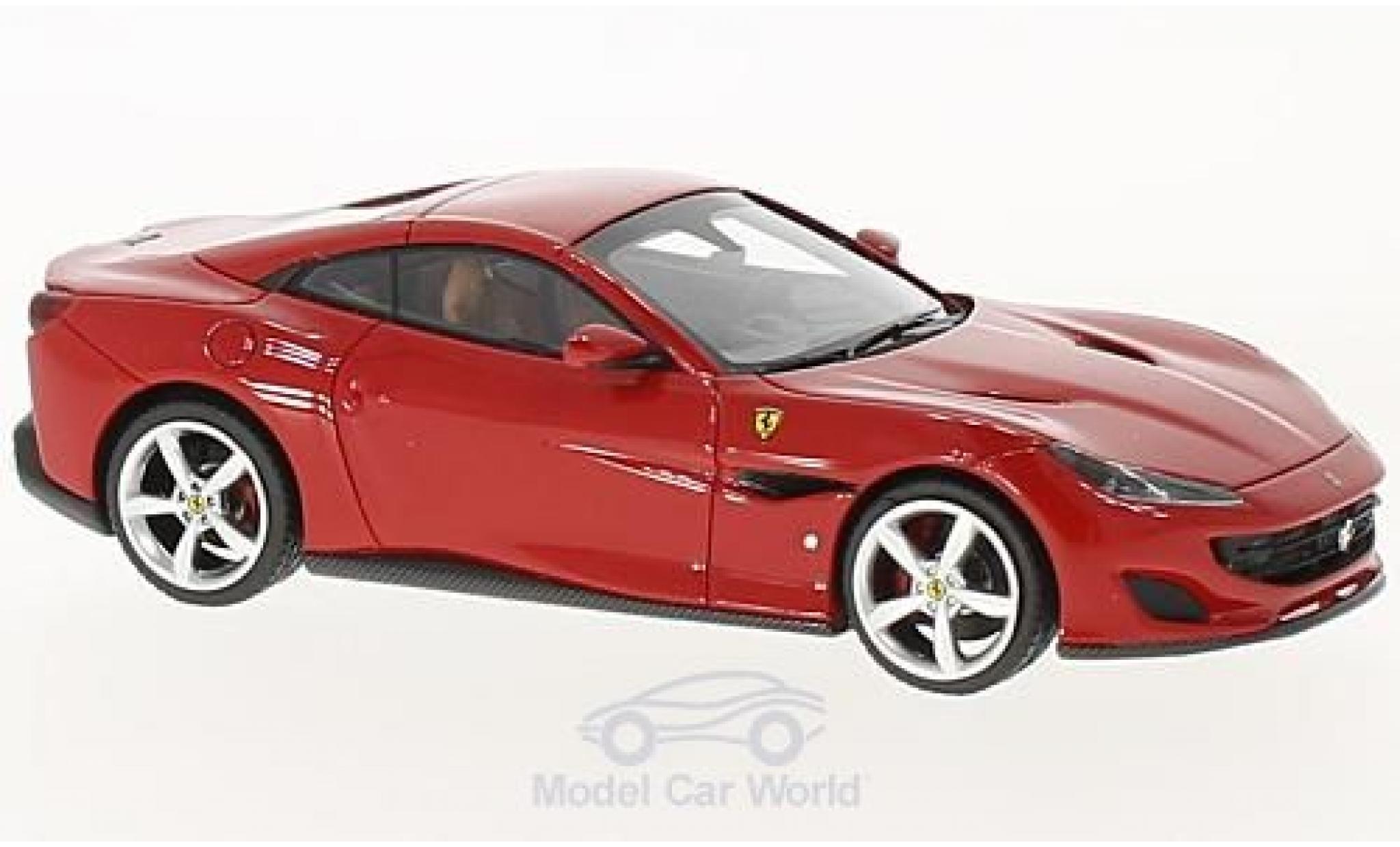 Ferrari Portofino 1/43 Look Smart red