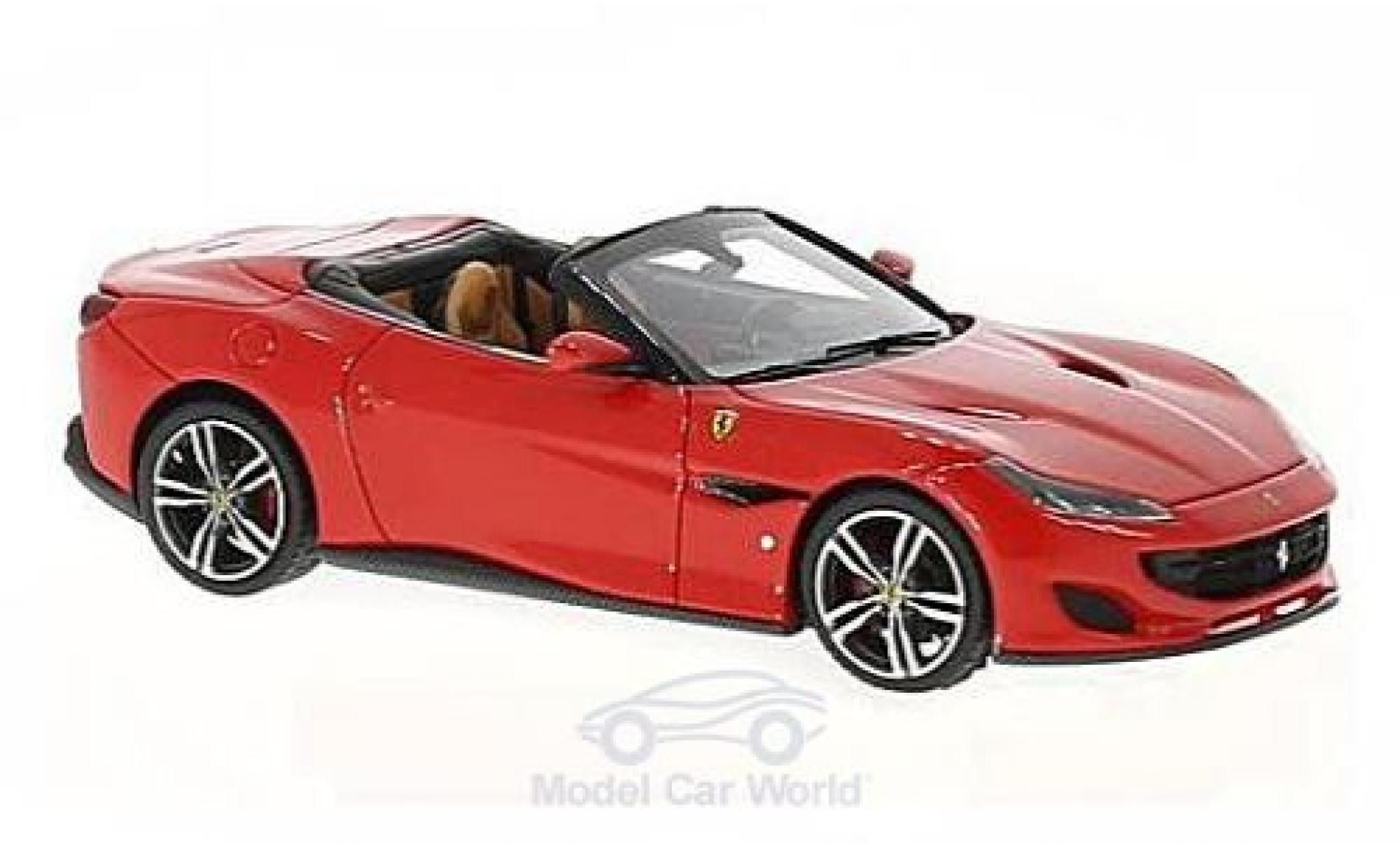 Ferrari Portofino 1/43 Look Smart rouge/noire