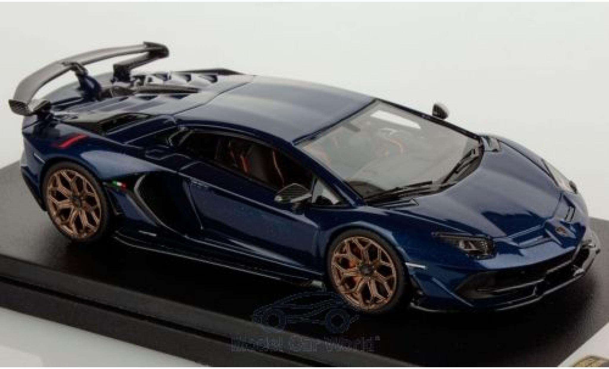 Lamborghini Aventador 1/43 Look Smart SVJ blue