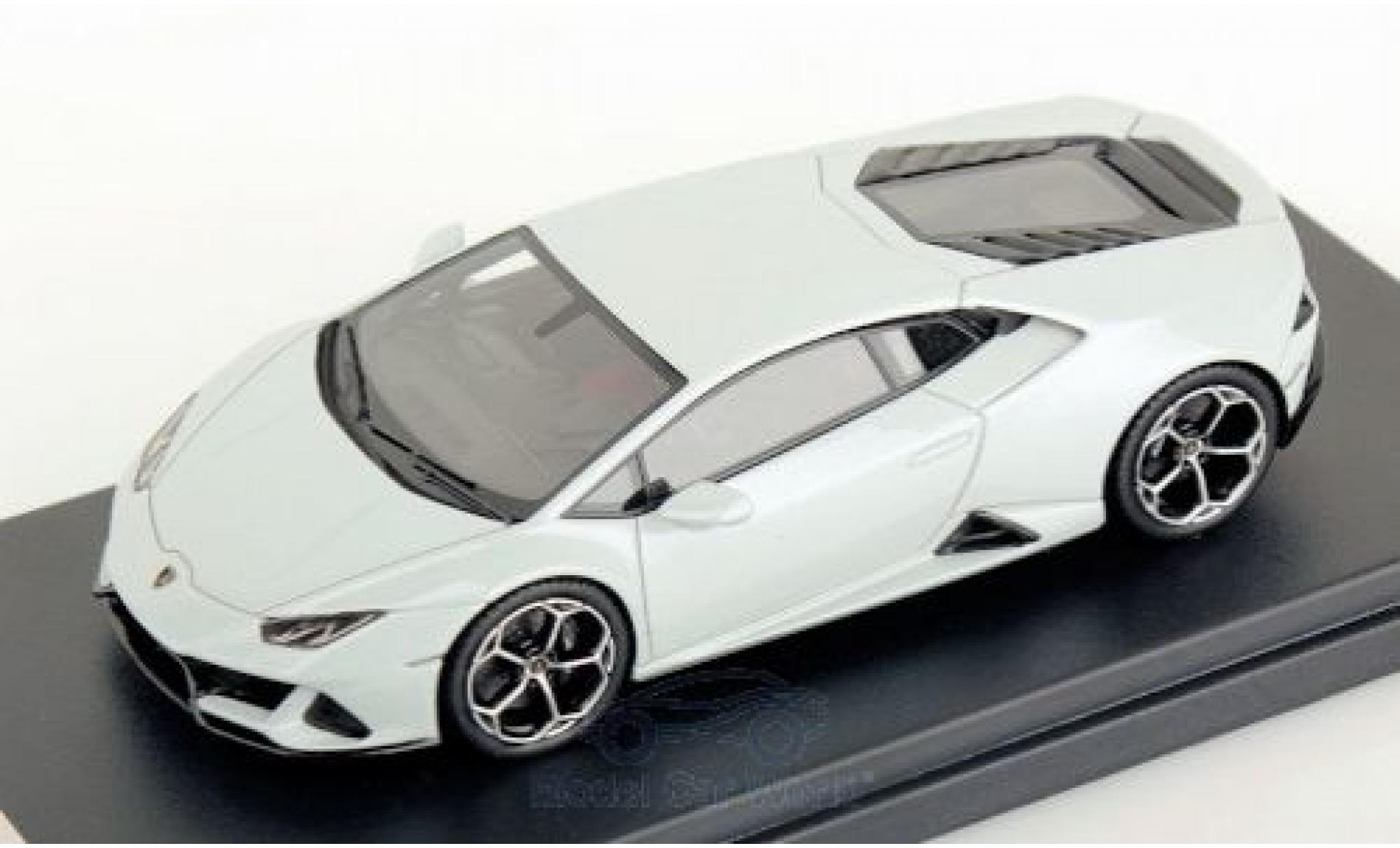 Lamborghini Huracan 1/43 Look Smart Evo métallisé blanche 2019