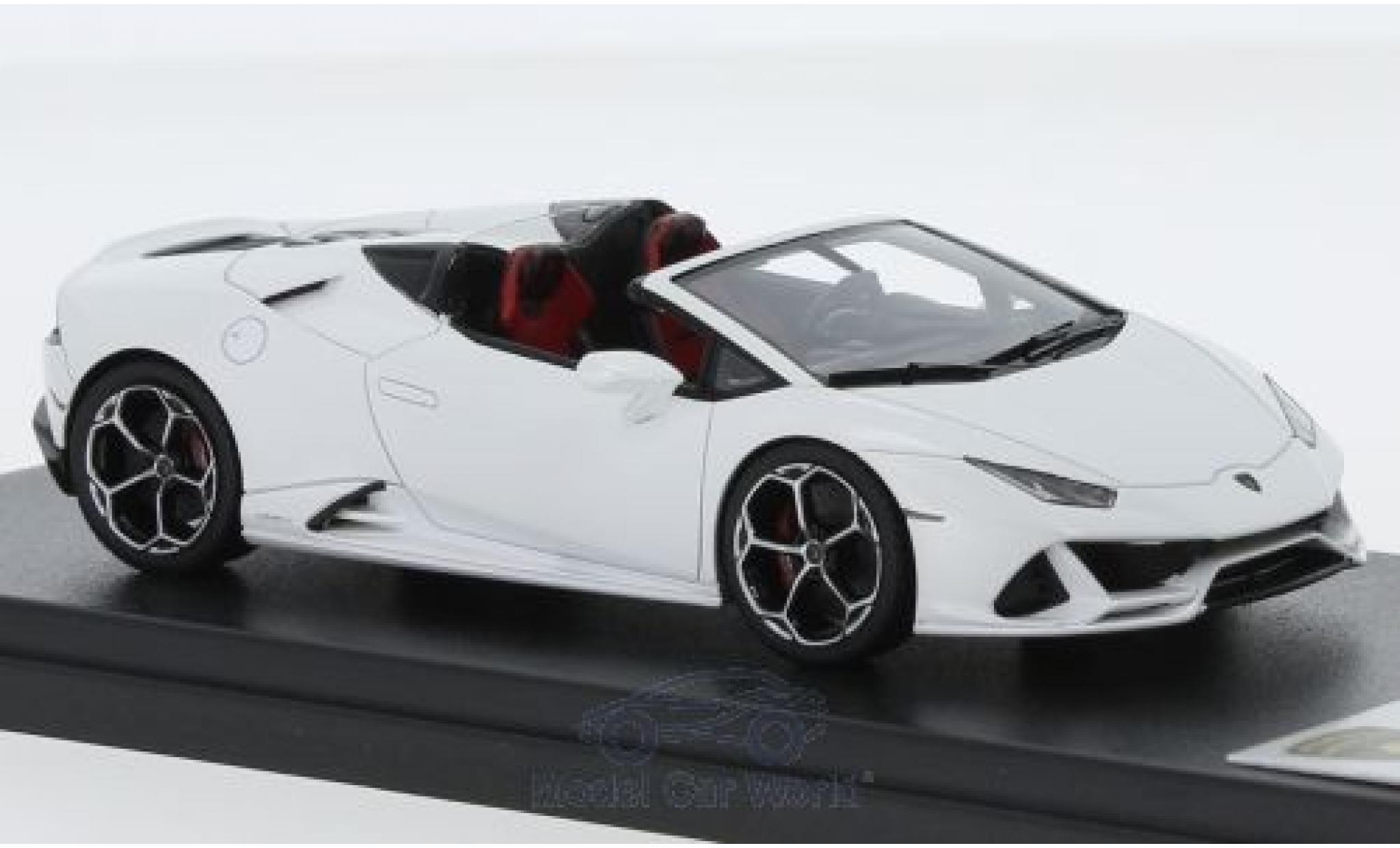 Lamborghini Huracan 1/43 Look Smart Evo Spyder matt-grey