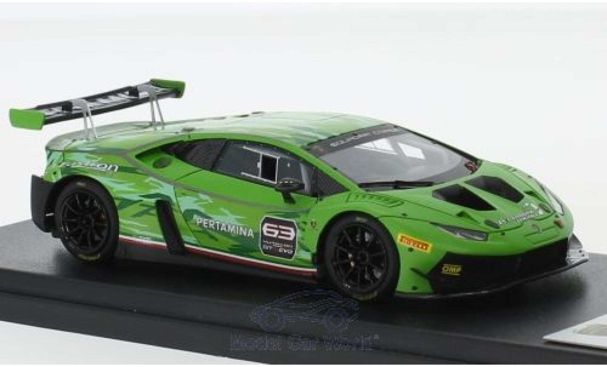 Lamborghini Huracan 1/43 Look Smart GT3 Evo matt-hellgrün 2018