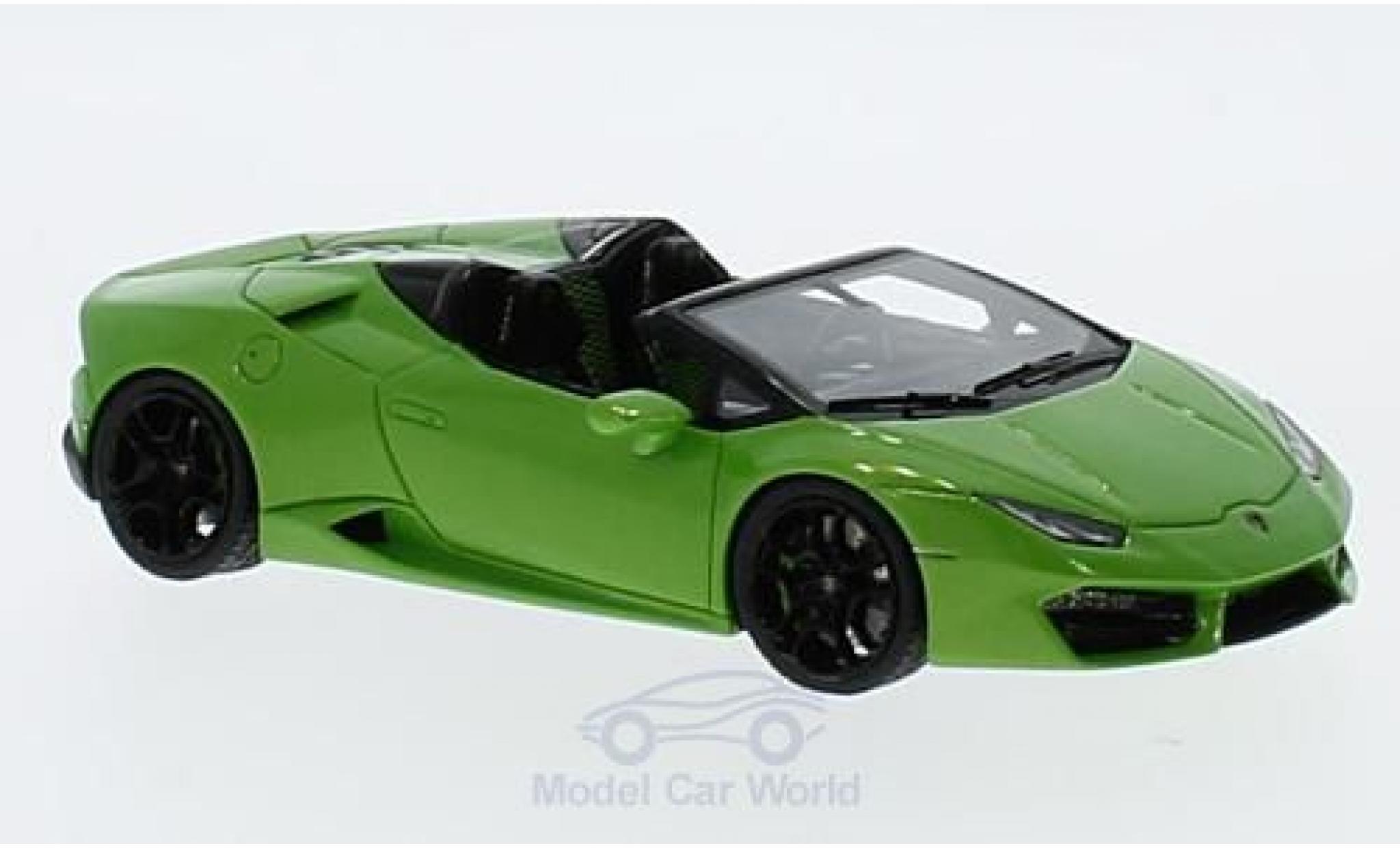 Lamborghini Huracan 1/43 Look Smart LP 580-2 Spyder metallic-hellgrün