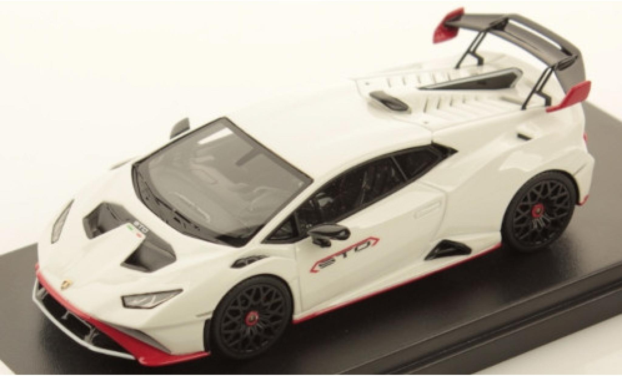 Lamborghini Huracan 1/43 Look Smart STO white/red