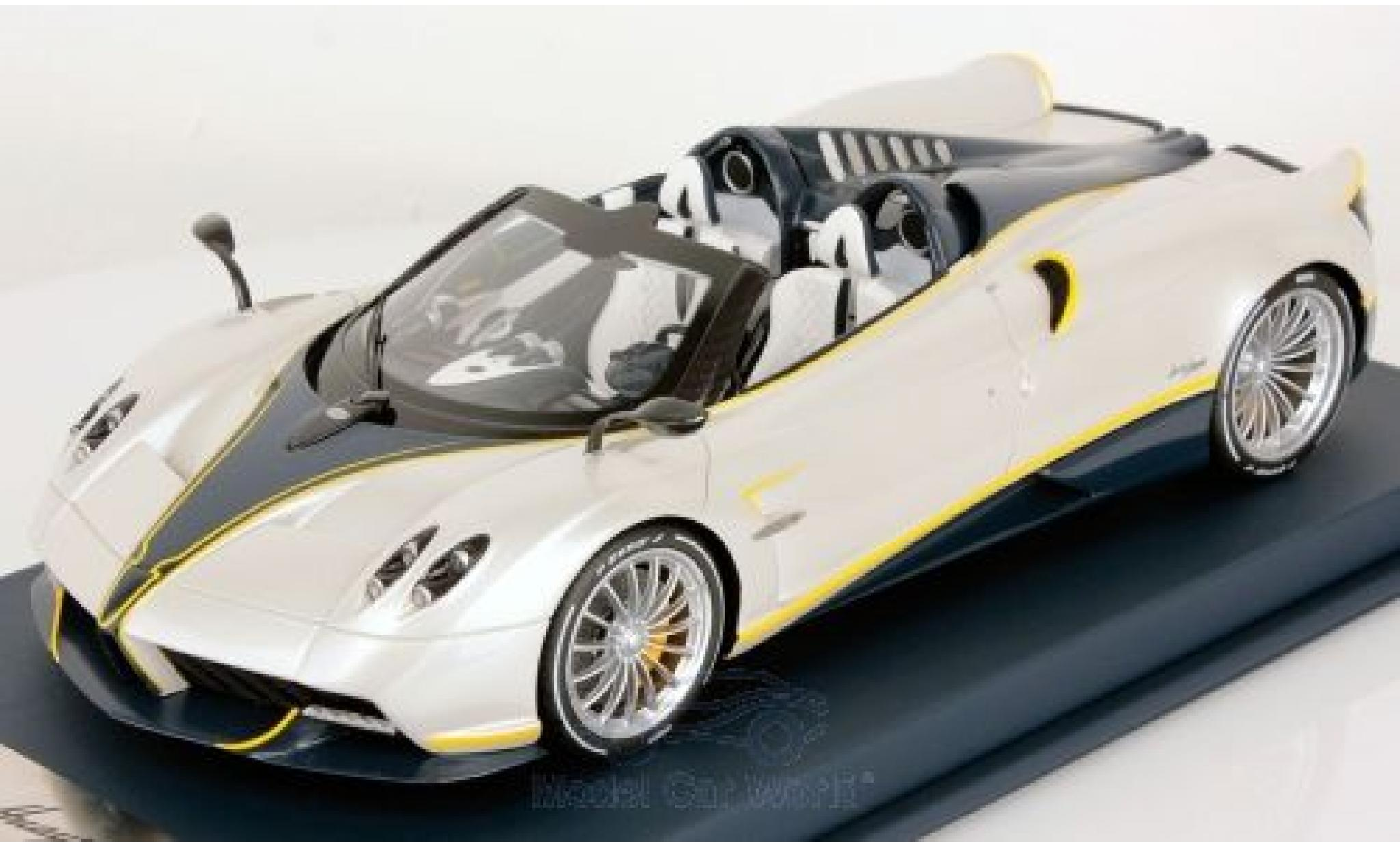 Pagani Huayra 1/18 Look Smart Roadster blanche/noire 2017 Gyrfalcon