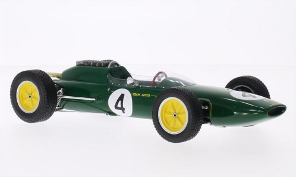 Lotus 25 1/18 Spark Dutch GP No.4 1962 miniatura