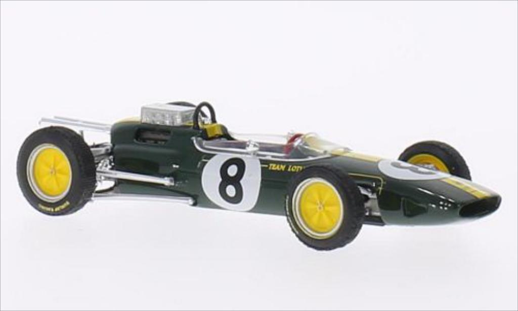 Lotus 25 1/43 Brumm No.8 Team GP Italien 1963 diecast model cars