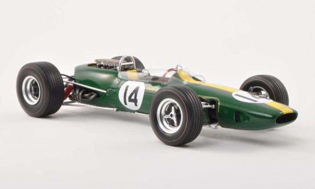 Lotus 33 Brm No 14 Gp Monaco 1967 Spark Diecast Model Car