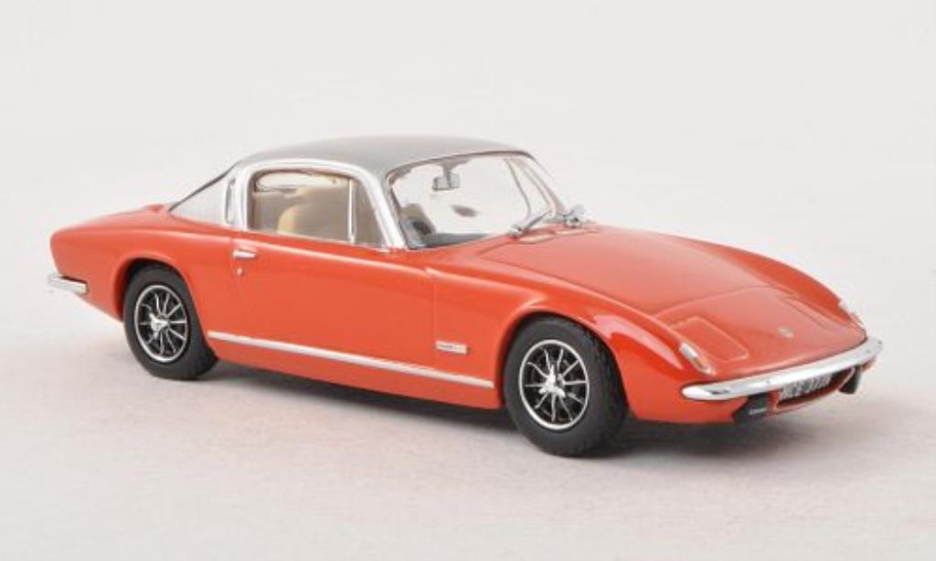 Lotus Elan 1/43 Oxford Plus 2 orange/grise RHD miniature