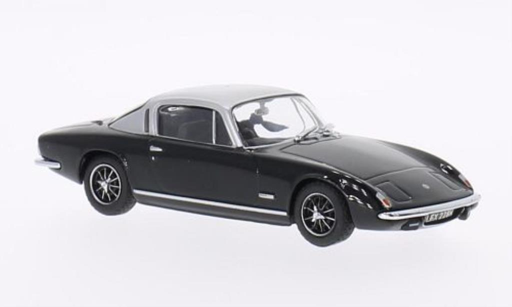 Lotus Elan 1/43 Oxford Plus 2 noire/grise miniature