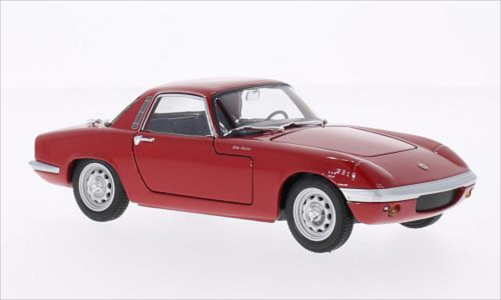 Lotus Elan 1/24 Welly rot 1965 modellautos