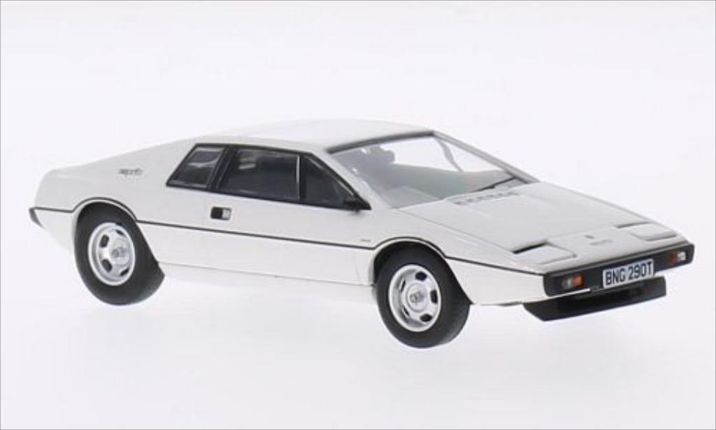 lotus esprit s1 weiss rhd 1977 vanguards modellauto 1 43. Black Bedroom Furniture Sets. Home Design Ideas