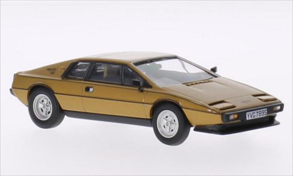 Lotus Esprit 1/43 Vanguards S2 gold RHD miniature