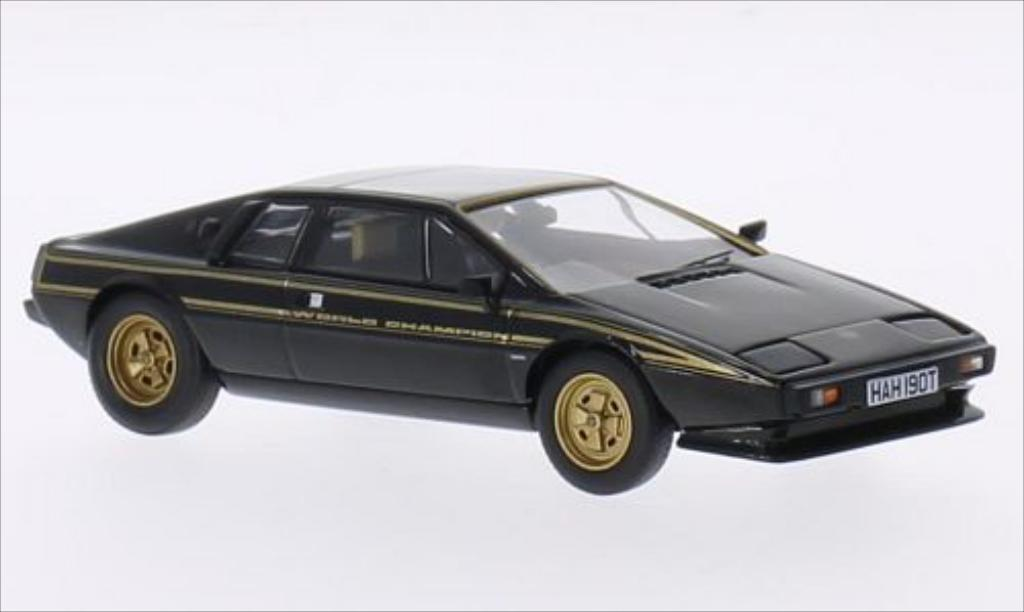 Lotus Esprit 1/43 Vanguards S2 World Champion Edition noire/gold RHD 1979 miniature