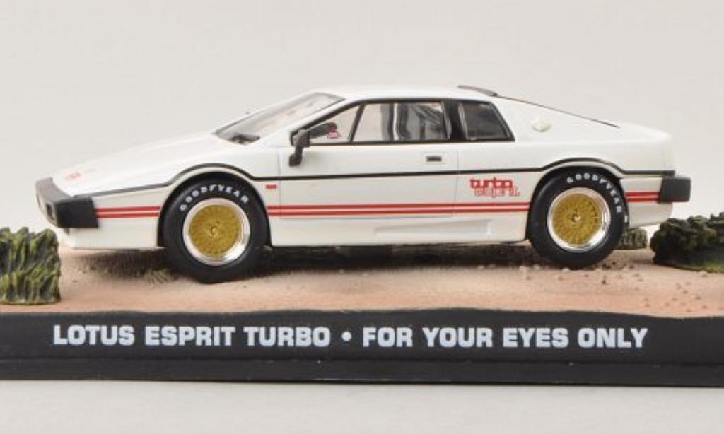 lotus esprit turbo white james bond 007 1980 mcw diecast model car 1 43 buy sell diecast car. Black Bedroom Furniture Sets. Home Design Ideas
