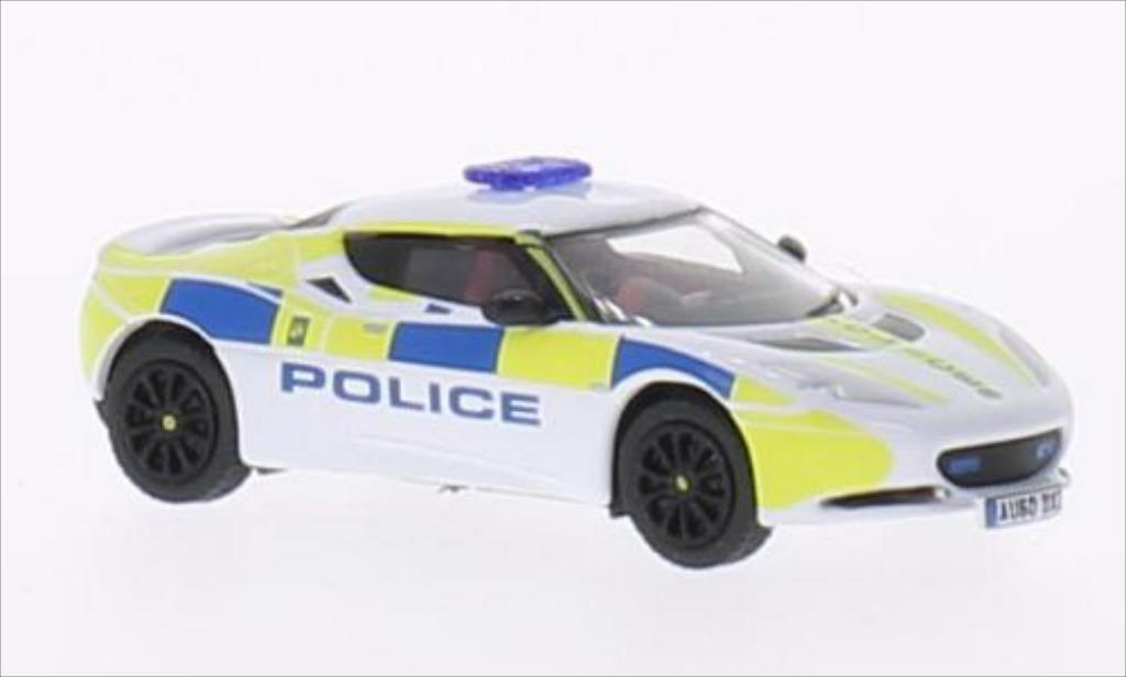 Lotus Evora 1/76 Oxford Central Motorway Patrol Group miniature