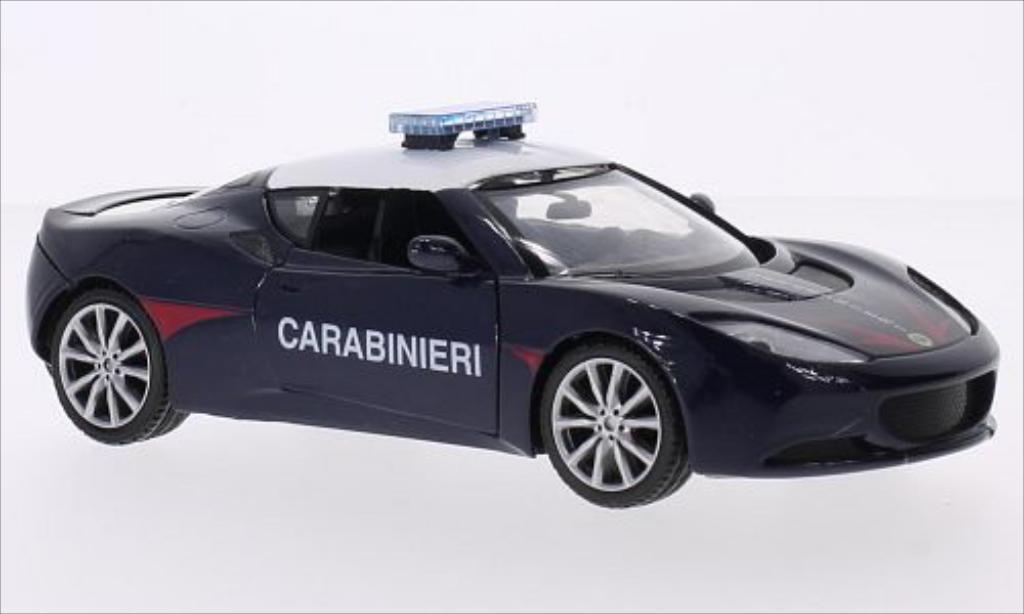 Lotus Evora S 1/24 Motormax Carabinieri miniature