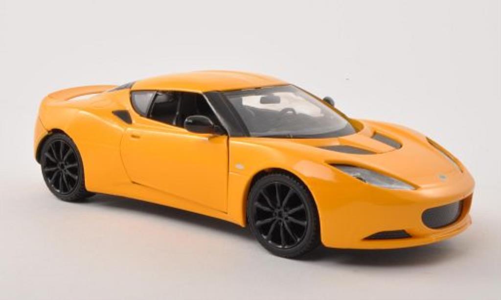 Lotus Evora S Miniature Jaune Motormax 1 24 Voiture