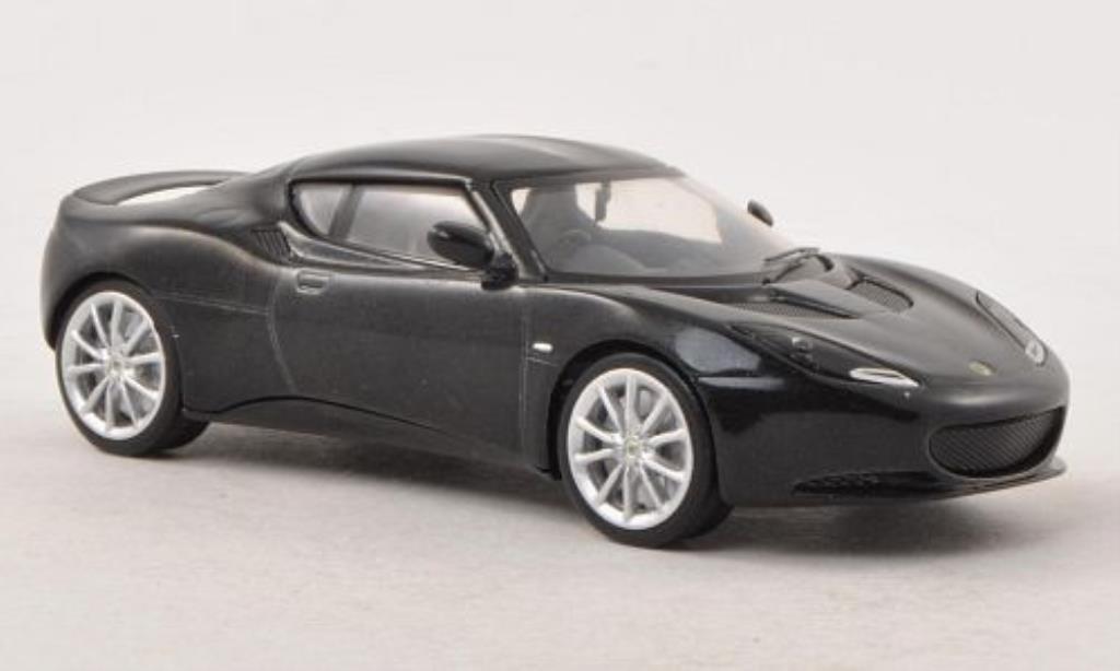 Lotus Evora S 1/43 Corgi noire miniature