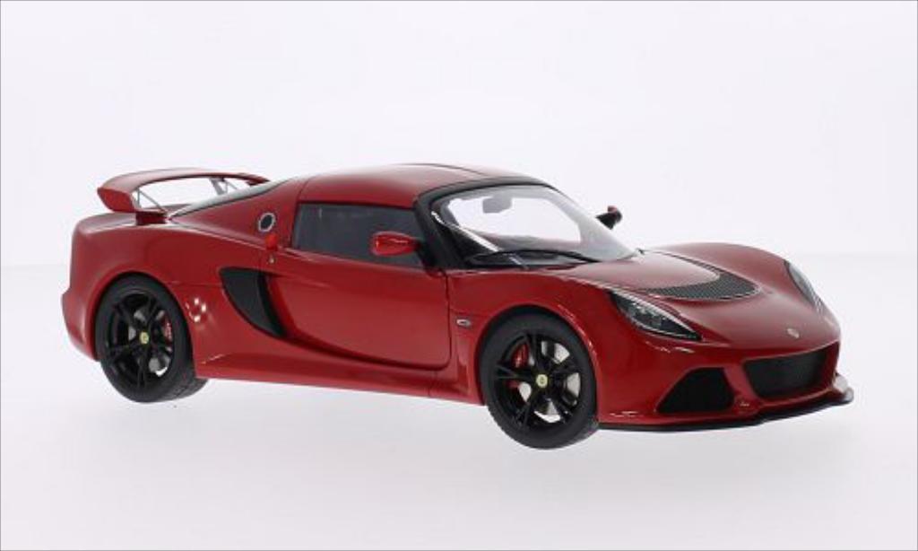 Lotus Exige 1/18 Autoart S rouge RHD 2012 miniature