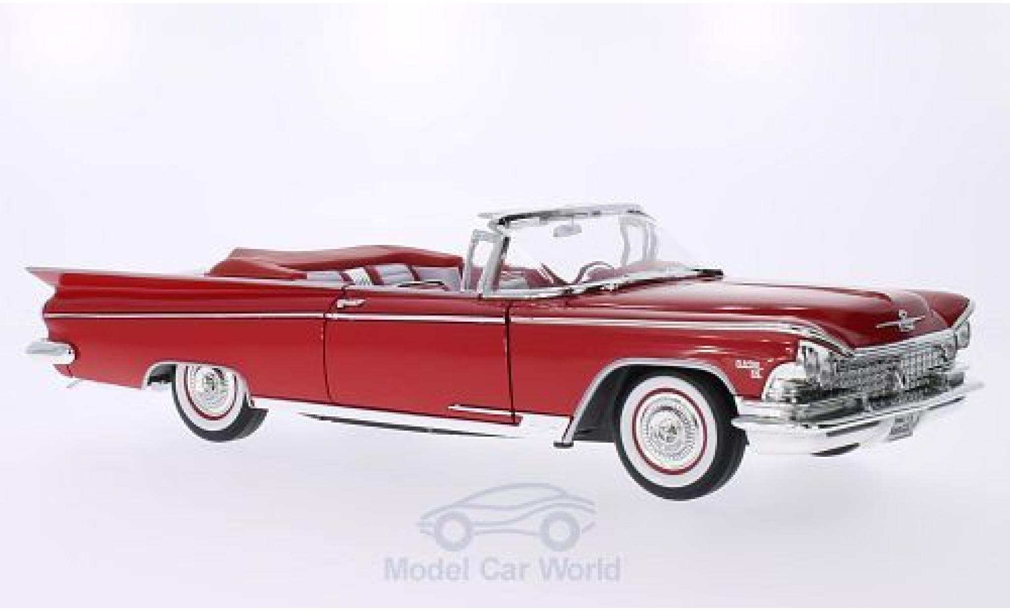 Buick Electra 1/18 Lucky Die Cast 225 rouge 1959