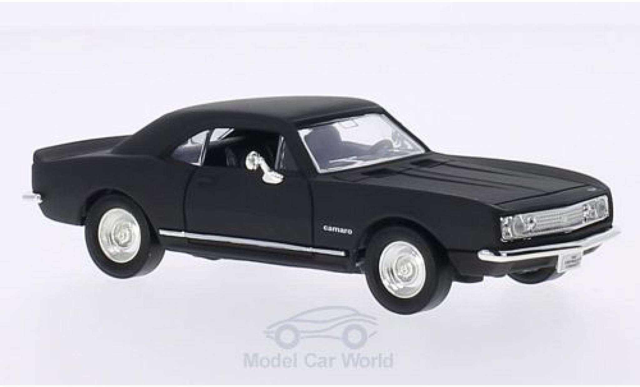 Chevrolet Camaro 1/43 Lucky Die Cast Z-28 matt-noire 1967 ohne Vitrine