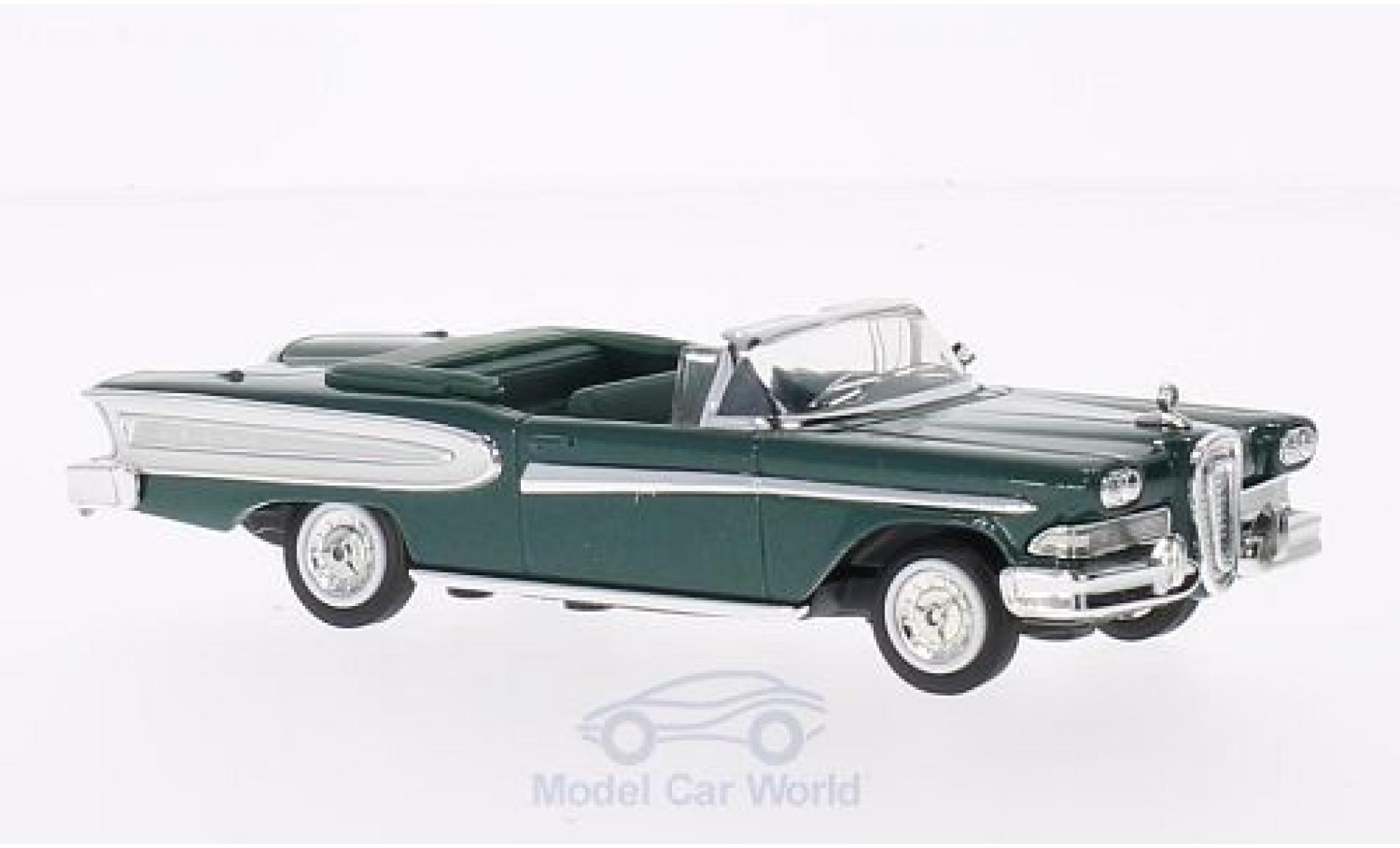 Edsel Citation 1/18 Lucky Die Cast métallisé verte 1958 ohne Vitrine