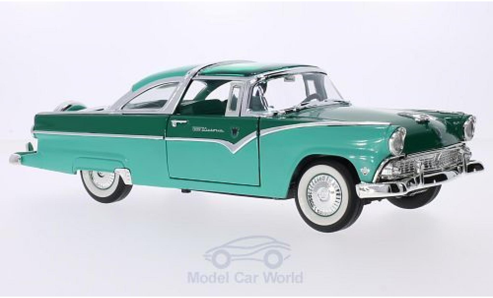Ford Crown 1/18 Lucky Die Cast Victoria turquoise/verte 1955