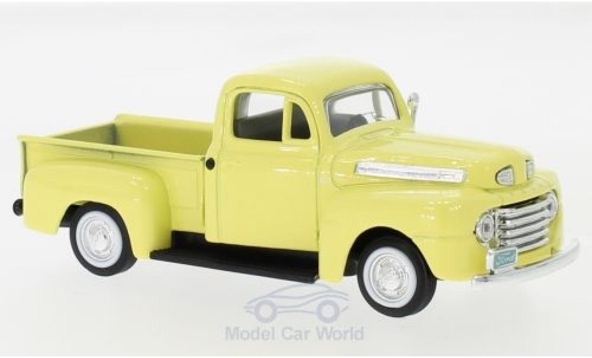 Ford F-1 1/43 Lucky Die Cast Pick Up jaune 1948