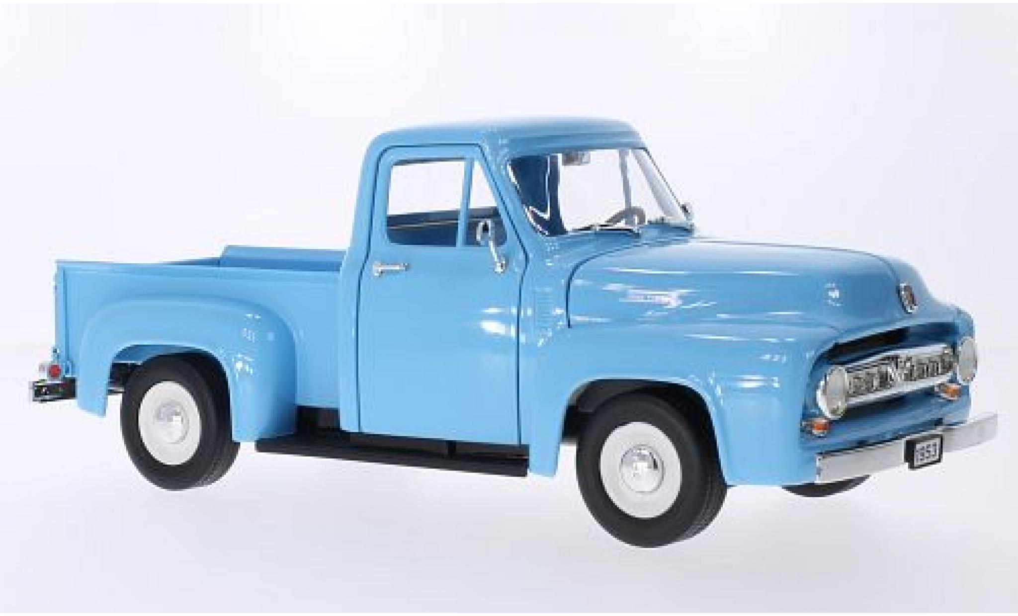 Ford F-1 1/43 Lucky Die Cast 00 Pick Up bleue 1953