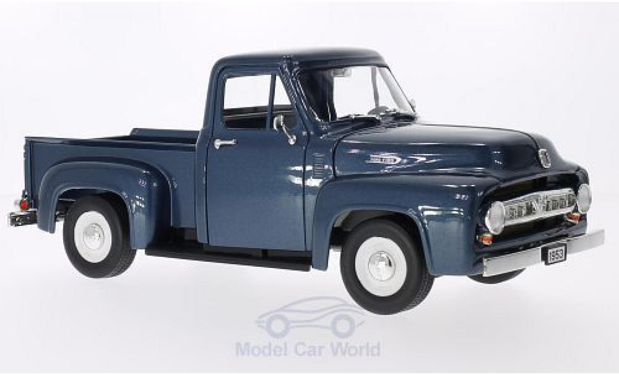 Ford F-1 1/18 Lucky Die Cast 00 Pick Up metallic-bleue 1953