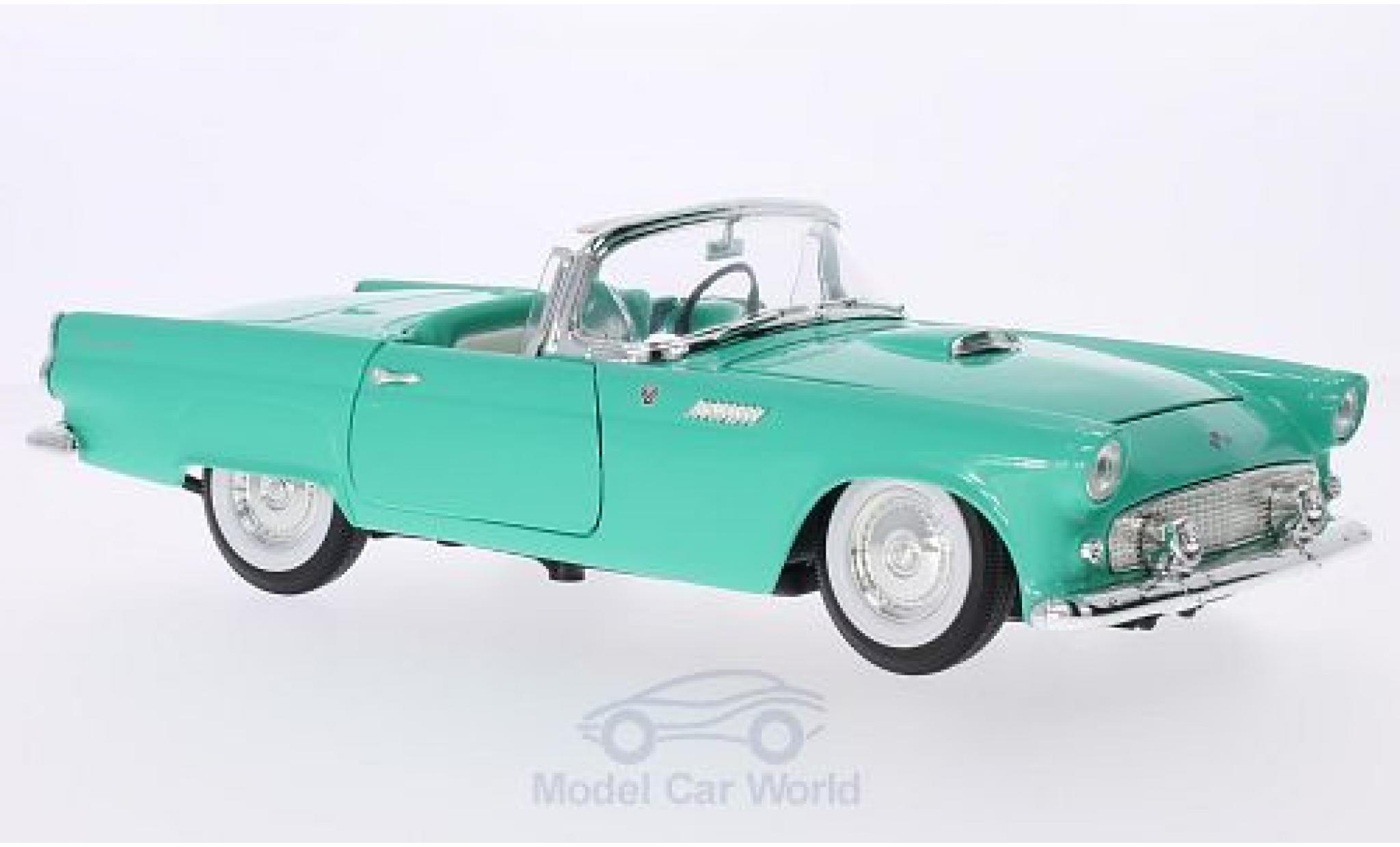 Ford Thunderbird 1955 1/18 Lucky Die Cast turquoise Hardtop liegt bei