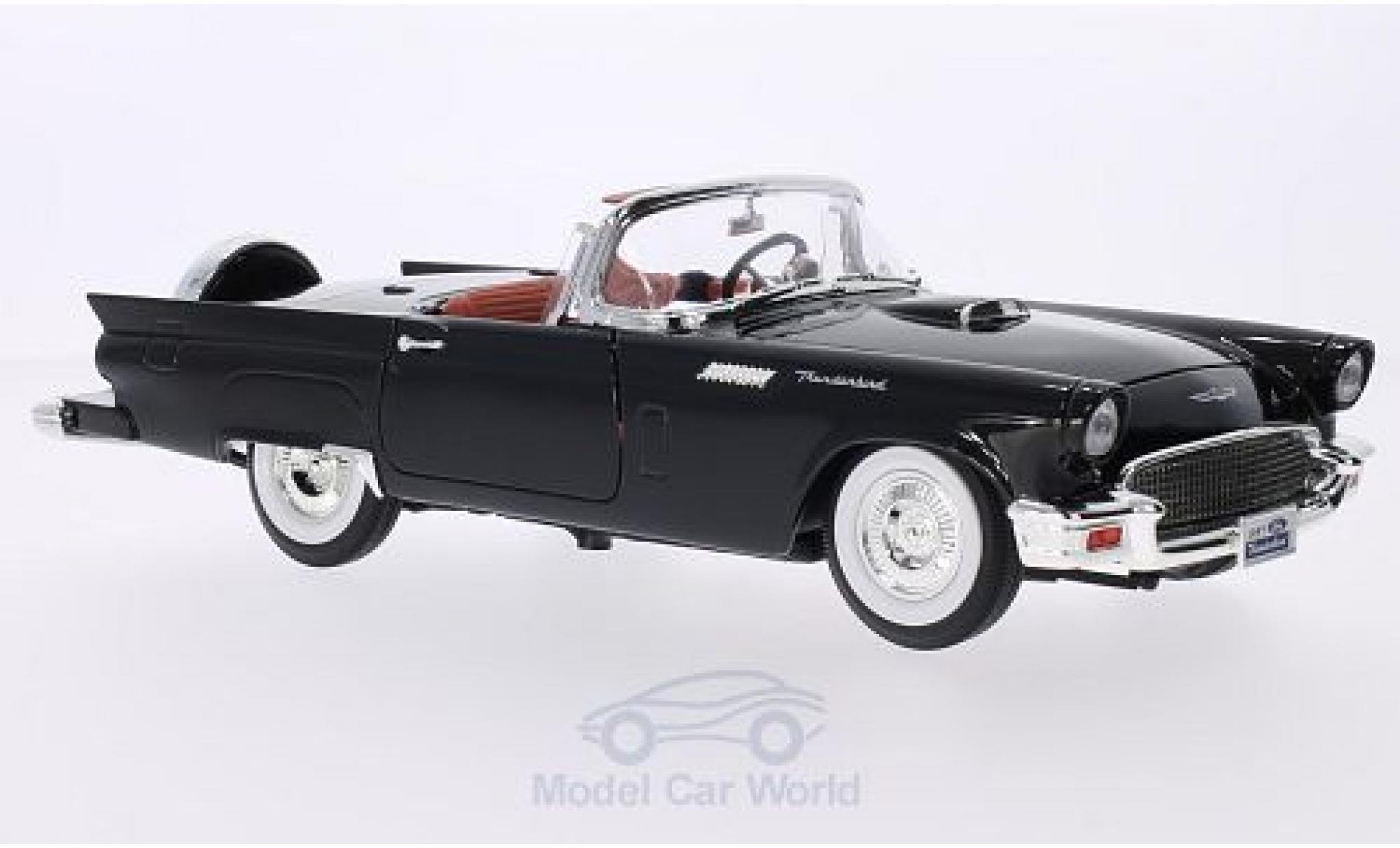 Ford Thunderbird 1/18 Lucky Die Cast noire 1957 Hardtop liegt bei