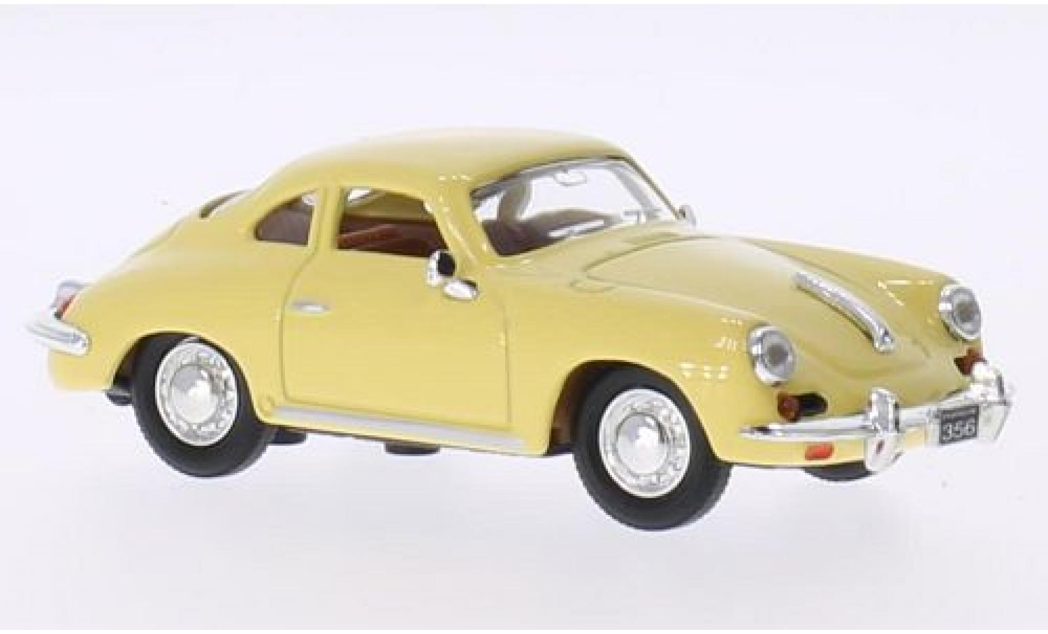 Porsche 356 1/43 Lucky Die Cast B/C beige 1956