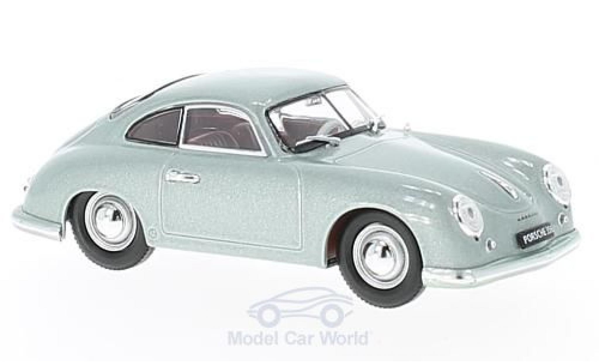 Porsche 356 A 1/43 Lucky Die Cast metallic-grise 1951