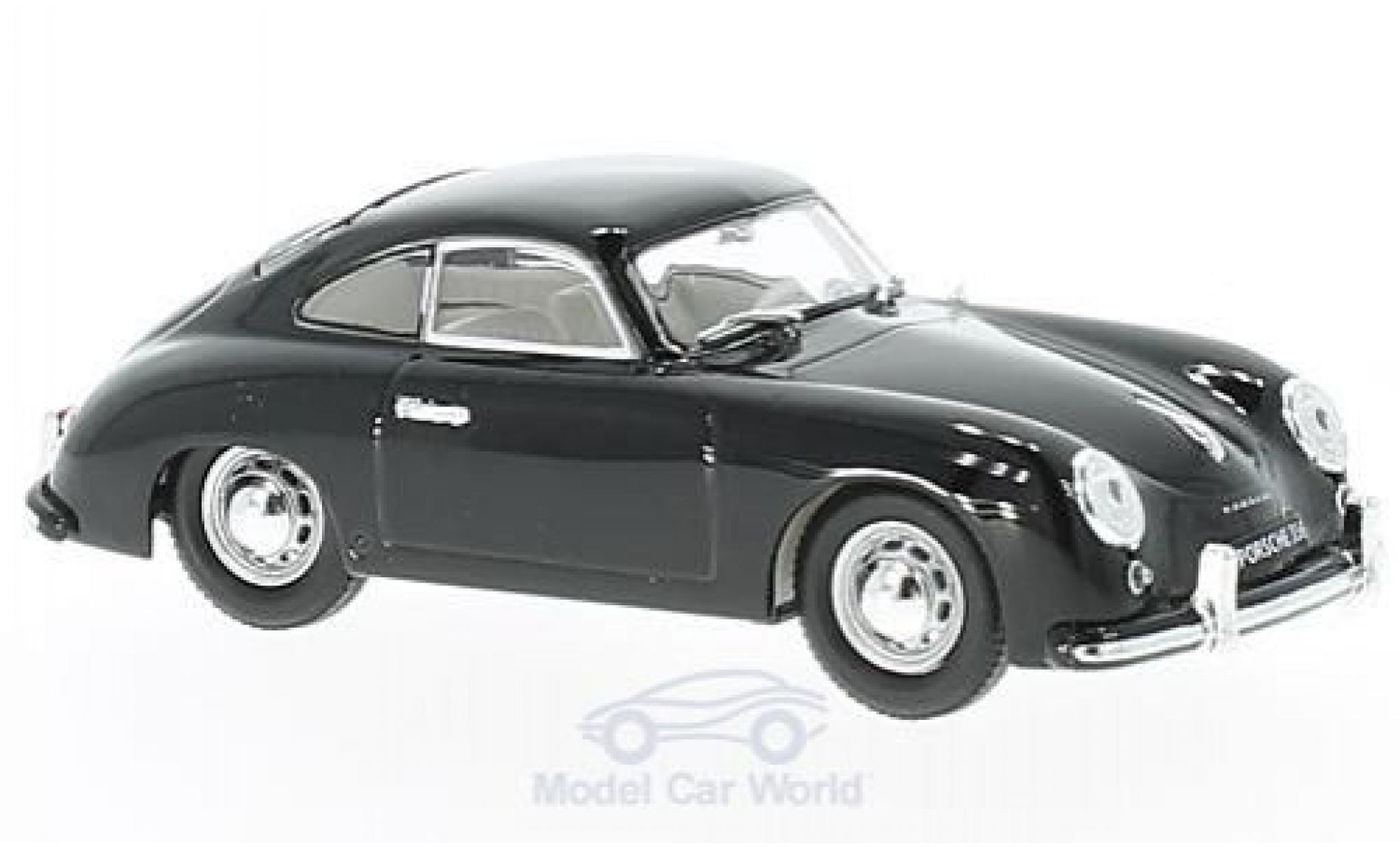 Porsche 356 1/43 Lucky Die Cast noire 1952