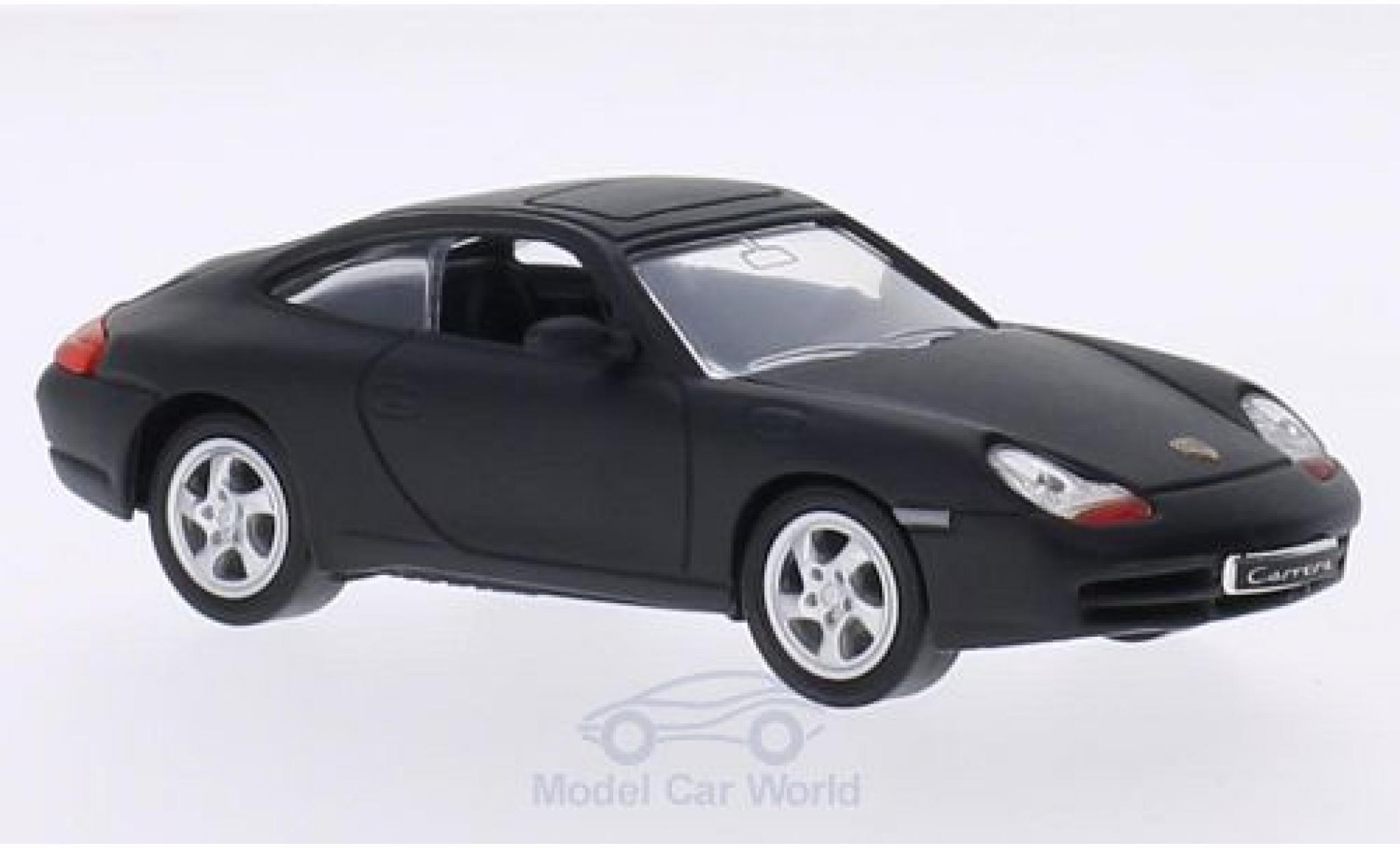 Porsche 996 1/43 Lucky Die Cast 911  Carrera matt-noire 1998 ohne Vitrine