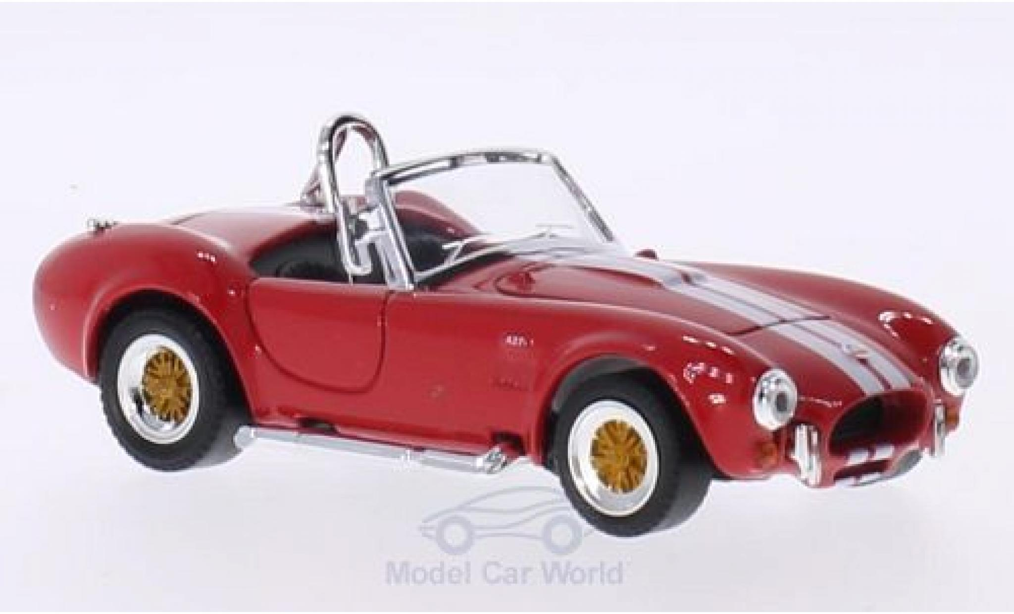 Shelby Cobra 1/43 Lucky Die Cast 427 S/C rouge/blanche 1964 ohne Vitrine