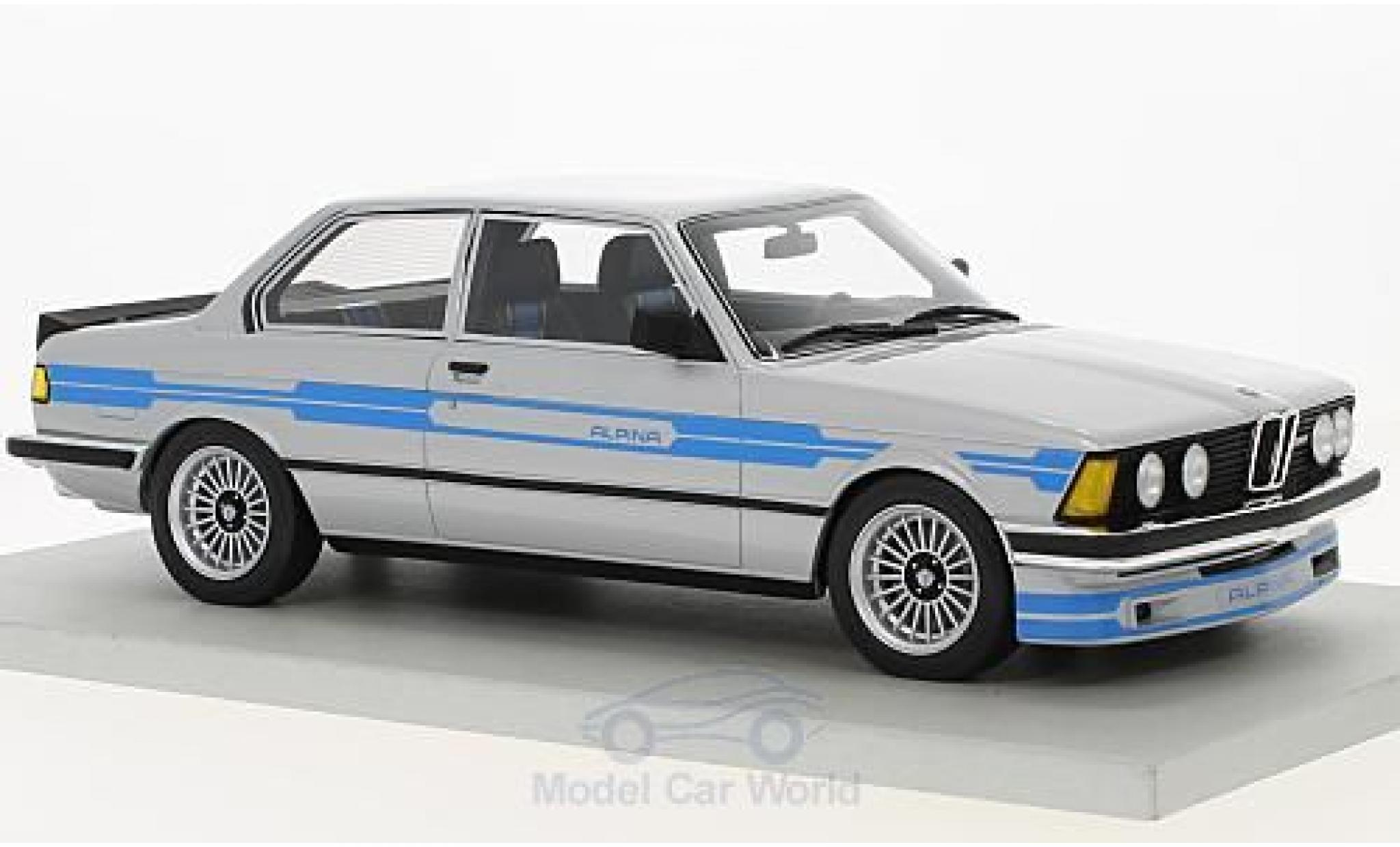 Bmw 323 1/18 Lucky Step Models Alpina grise 1983
