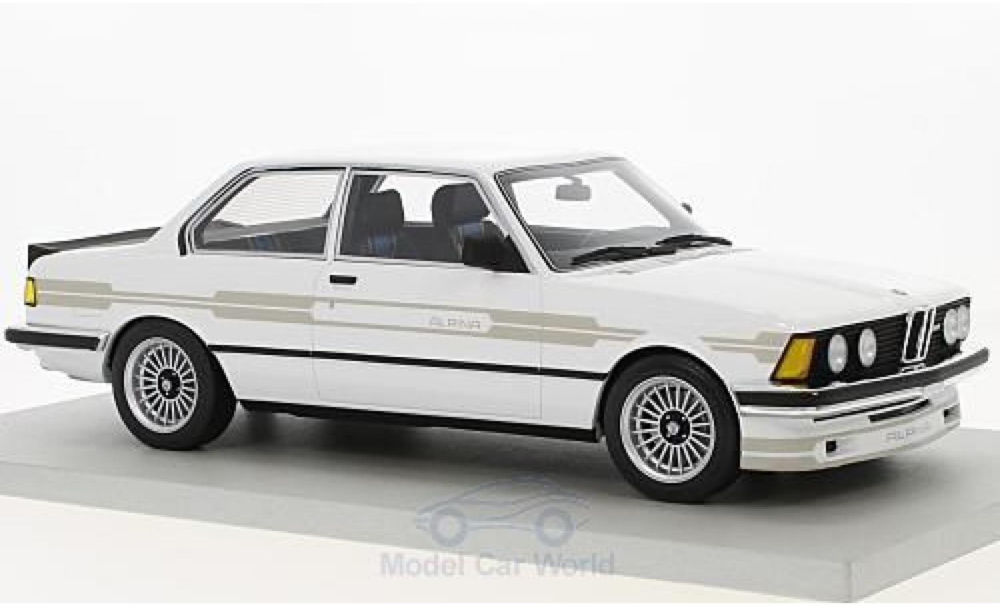 Bmw 323 1/18 Lucky Step Models Alpina blanche 1983