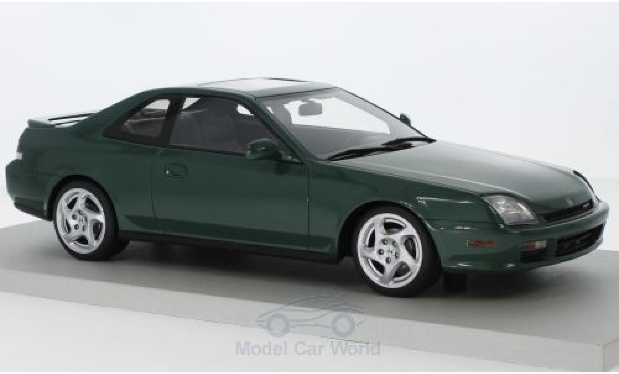 Honda Prelude 1/18 Lucky Step Models metallise green 1997