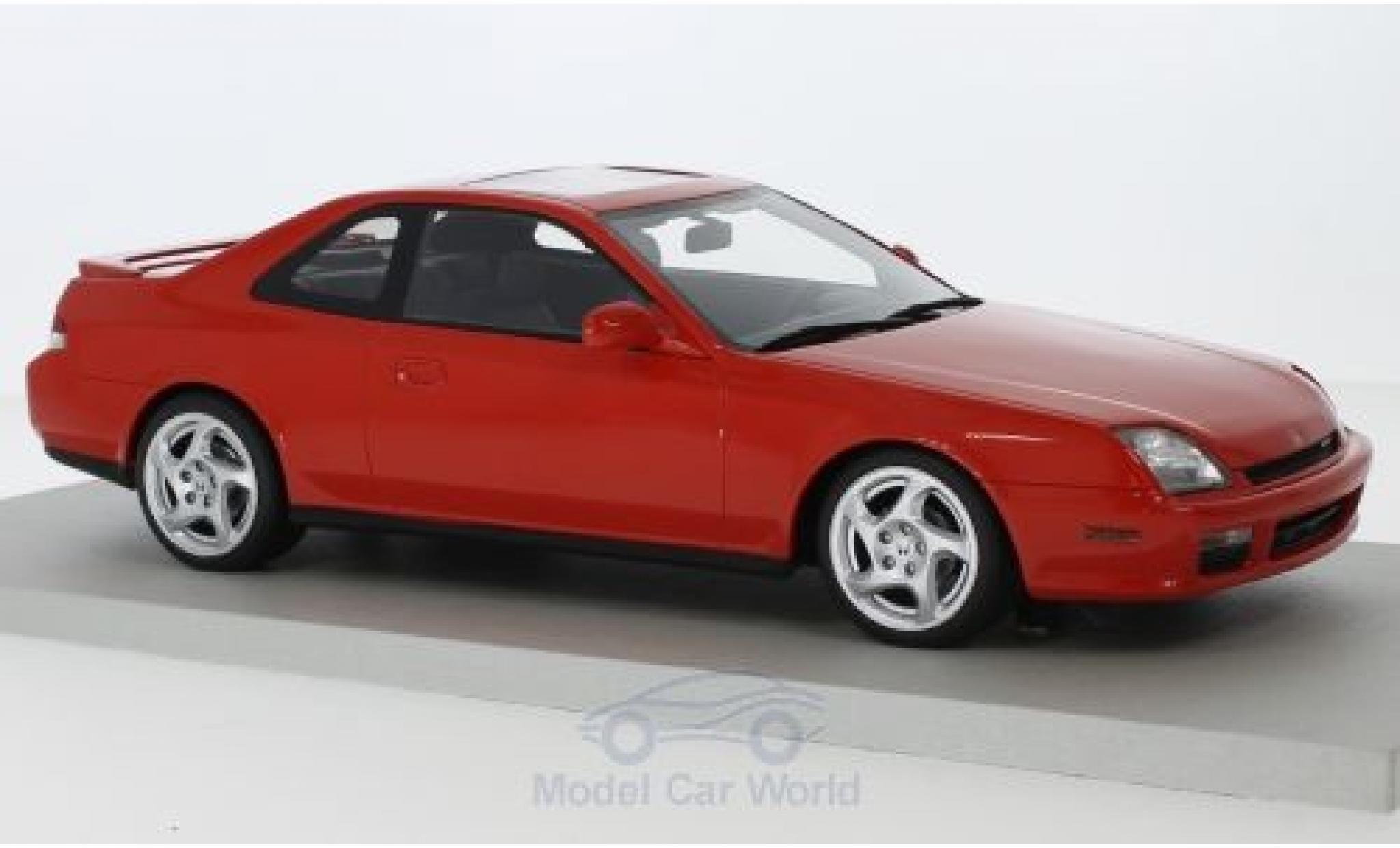 Honda Prelude 1/18 Lucky Step Models rouge 1997