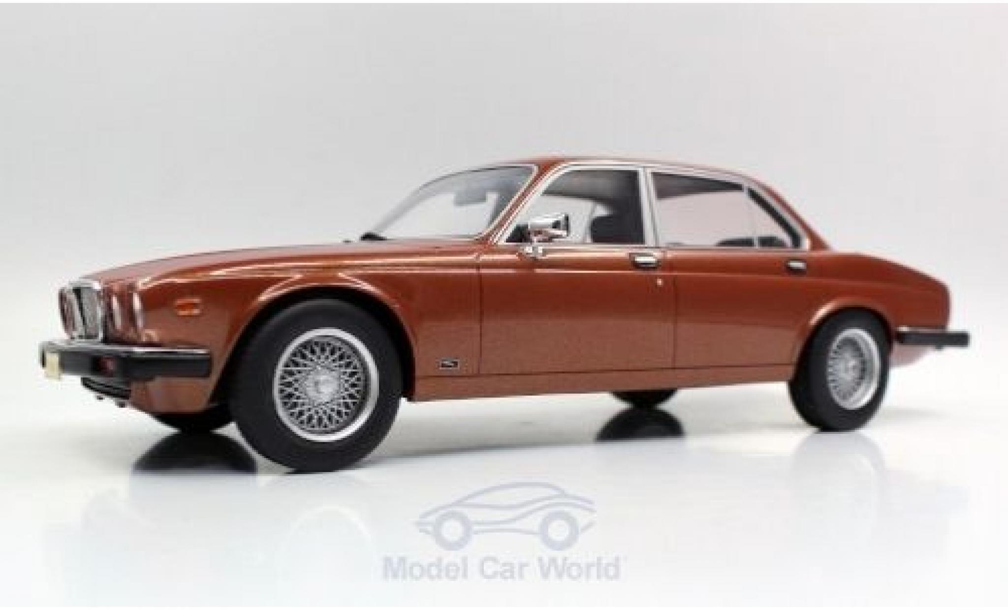 Jaguar XJ 1/18 Lucky Step Models 6 bronze 1982
