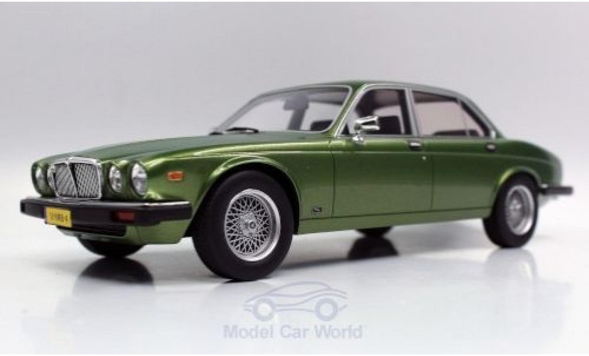 Jaguar XJ 1/18 Lucky Step Models 6 metallise green 1982