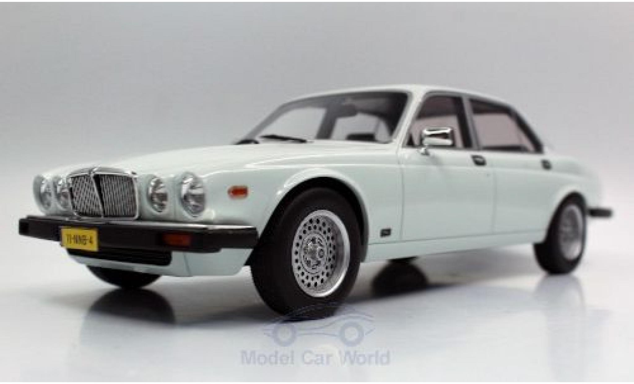 Jaguar XJ 1/18 Lucky Step Models 6 white 1982