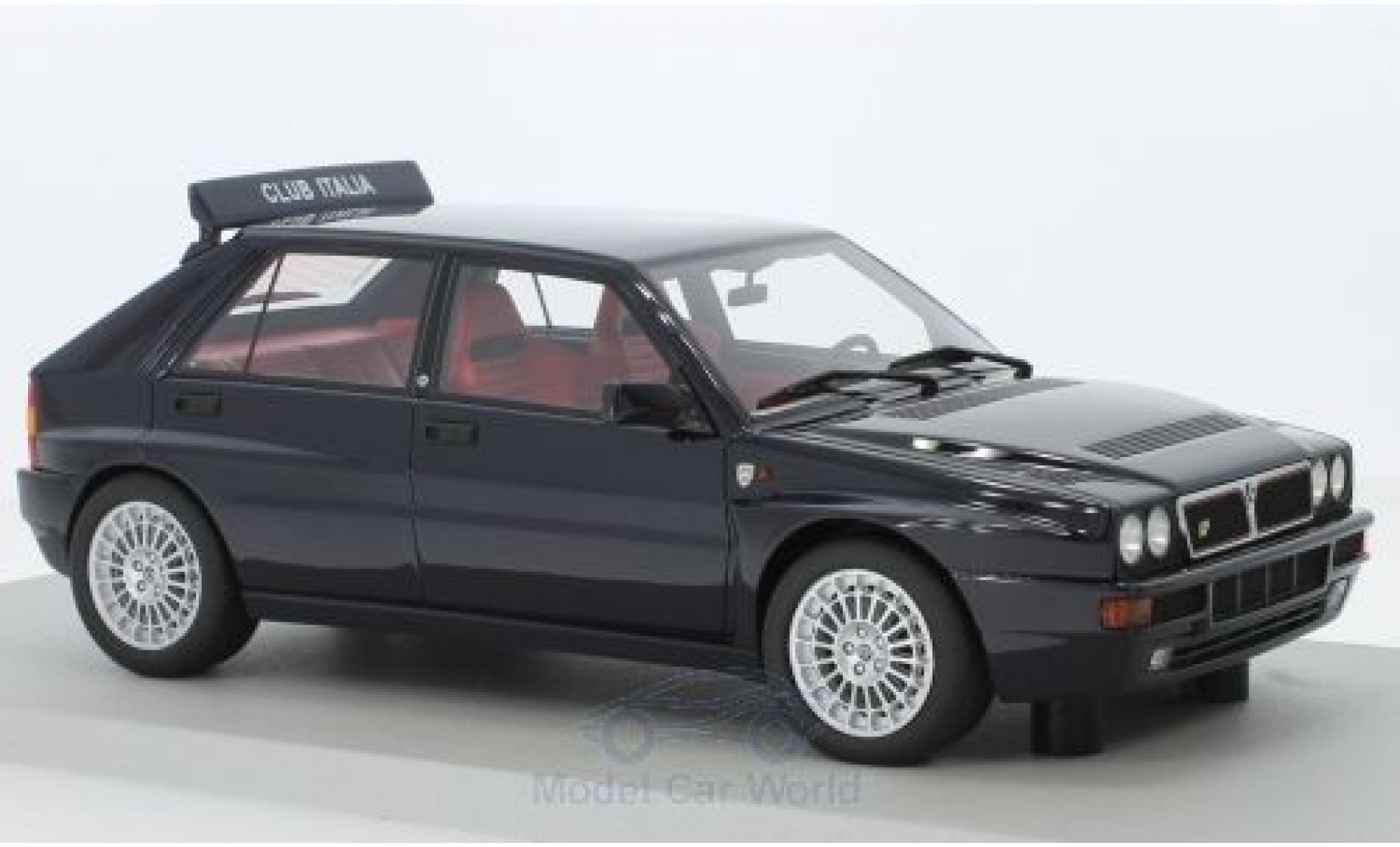 Lancia Delta 1/18 Lucky Step Models Integrale Evolutione Club Italia noire