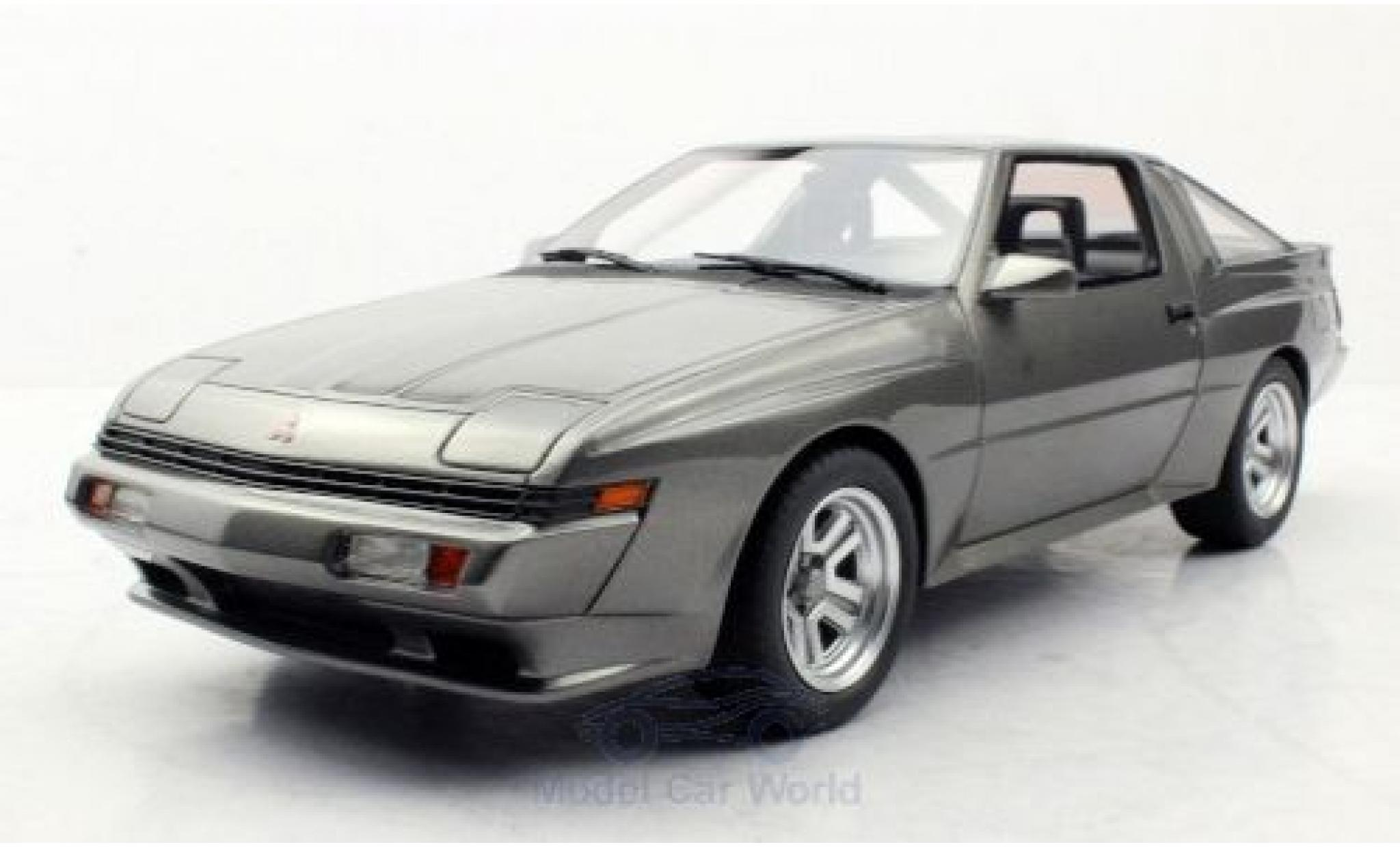 Mitsubishi Starion 1/18 Lucky Step Models metallise grey 1987