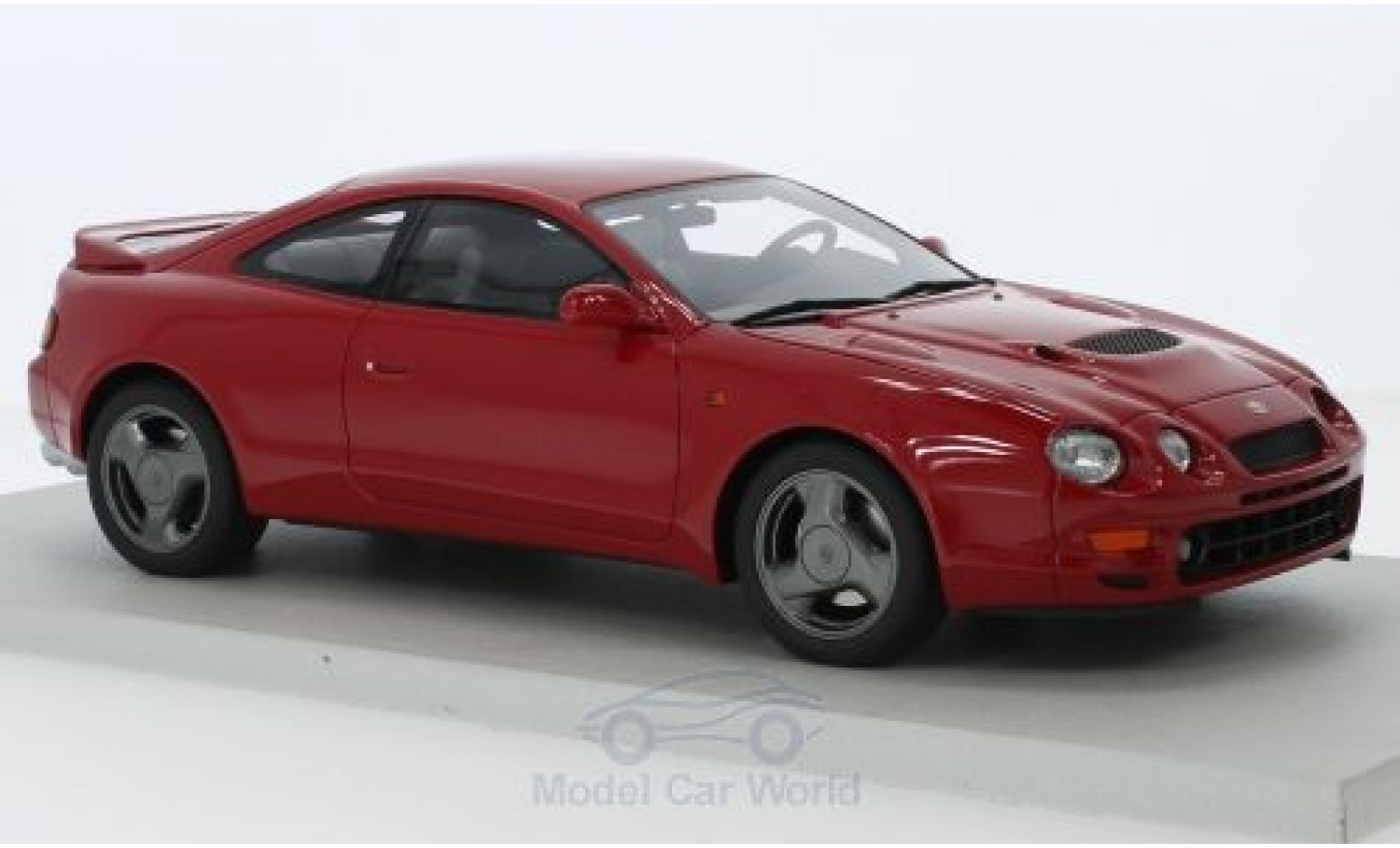 Toyota Celica 1/18 Lucky Step Models ST 205 rouge